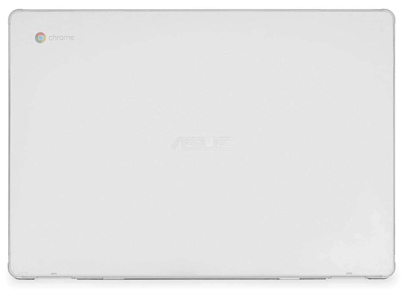 mCover Hard Shell Case for 15.6-inch ASUS Chromebook C523NA Series Laptop - ASUS C523 Clear