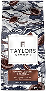 Taylors Cacao Superior Colombian Ground Coffee - 227g (0.5lbs)