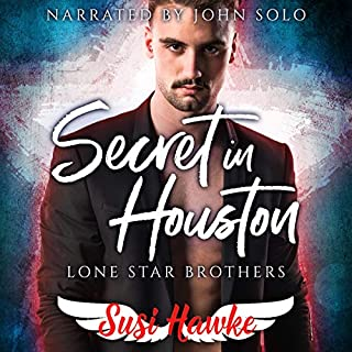 Secret in Houston audiobook cover art