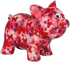 Pomme Pidou Tirelire en c/éramique El/éphant Darcy Love and Peace MistyPink 16,5x11x19cm