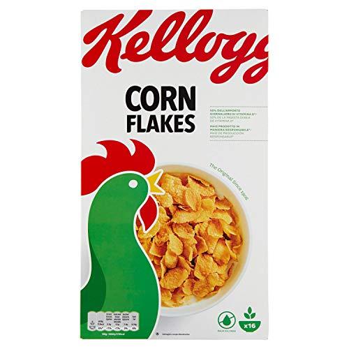 Kellogg's Corn Flakes Originali - Confezione da 500 g