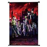 Akame ga KILL-Anime - Decoración de pared para póster de desplazamiento de tela, decoración del hogar, perfecto para la habitación (30 x 45 cm)