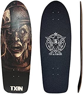 TXIN - Zombie Nation 30,5 Deck Perfect for surfskate Truc...