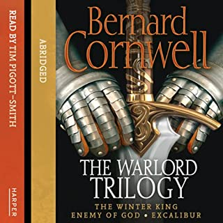 Enemy of God                   By:                                                                                                                                 Bernard Cornwell                               Narrated by:                                                                                                                                 Tim Pigott-Smith                      Length: 6 hrs and 12 mins     74 ratings     Overall 4.6