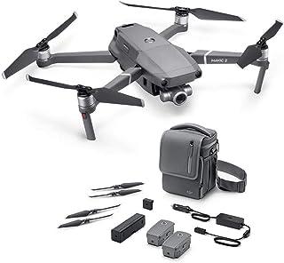 DJI Mavic 2 Zoom con Fly More Kit con Drone Quadrocopter Incluye Drone con Zoom Óptico de 24-48 mm Cámara de Video Sensor CMOS de 12 MP 1/2.3 Color Gris