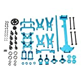 Vaorwne Upgrade Metal Parts Kit for Wltoys A959 A979 A959B A979B 1/18 Rc Car Parts,Blue Metal Remote Control Peripherals/Devices Upgrade kit Four-Wheel Drive Attributes Upgrade kit