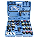FreeTec 28 Piezas Probador de Sistema de Enfriamiento Probador de Presión de Refrigeración Microesferas del Tanque de Agua