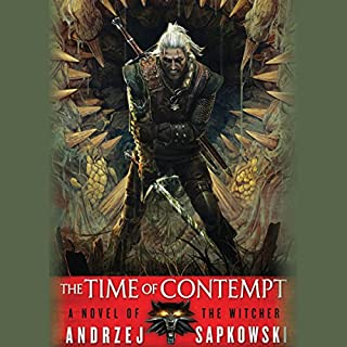 The Time of Contempt audiobook cover art