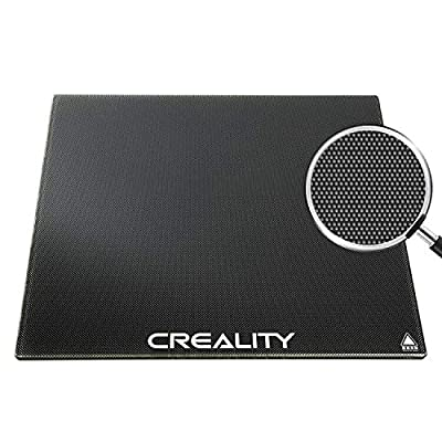 Creality CR 10/10S Glass Plate, 3D Printer Microporous Coating Printing Bed Platform, 310 x 310 x 4 mm