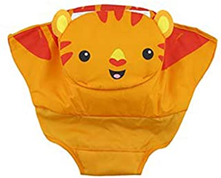 Fisher-Price Tiger Time Baby Jumping Seat Jumperoo #FVR21 - Replacement Orange Seat Pad / Cover