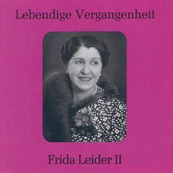 Lebendige Vergangenheit - Frida Leider (Vol. 2)