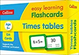 Times Tables Flashcards: Prepare for school with easy home learning