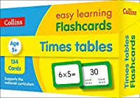 Times Tables Flashcards: Prepare for School with Easy Home Learning (Collins Easy Learning KS2)