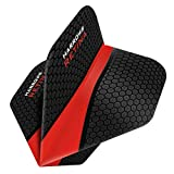 Harrows Retina Dart Flights - 5 Sets (15) - 100 Micron Extra Strong - Standard - Red by Darts Corner