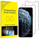 JETech Screen Protector for iPhone 11 Pro, iPhone Xs and iPhone X 5.8-Inch