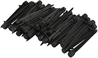 AKOAK 25/50 Pcs 360 Degree Adjustable Water Flow Irrigation Drippers on Stake Emitter Drip System,Model, Home & Garden Sto...
