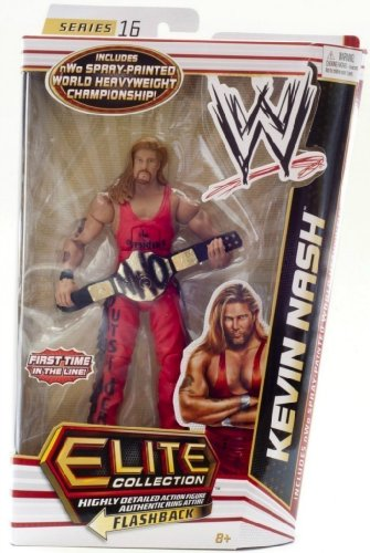 WWE Elite Series 16 Kevin Nash variant w/ spray painted nWo championship belt
