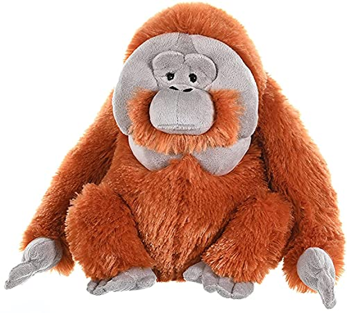 Wild Republic 11505 12250 Plüsch Orangutan, Cuddlekins Kuscheltier, Plüschtier, 30 cm