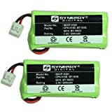 Synergy Digital Cordless Phone Batteries, Works with RCA H5401RE1 Cordless Phone, (Ni-MH, 2.4V, 800 mAh) Ultra Hi-Capacity, Combo-Pack Includes: 2 x SDCP-H301 Batteries
