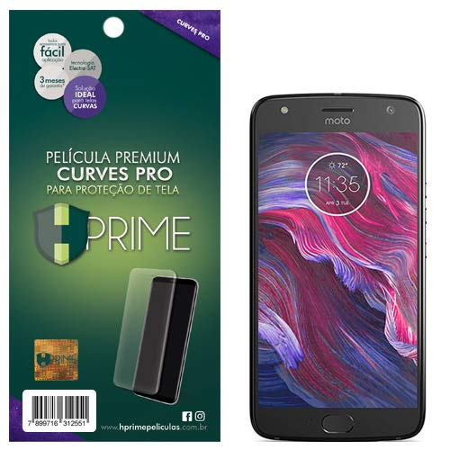 Pelicula HPrime Curves Pro para Motorola Moto X4, Hprime, Película Protetora de Tela para Celular, Transparente
