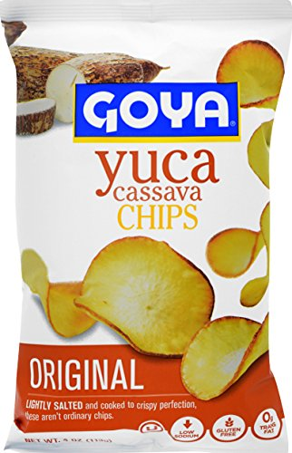 Goya Foods Cassava Yuca Chips, 4 Ounce (Pack of 12)