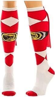 Mighty Morphin Power Rangers Knee High Socks