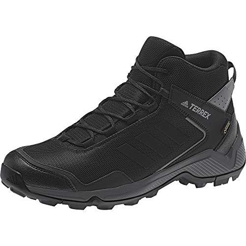 adidas Outdoor Men's Terrex EASTRAIL MID GTX Hiking Boot, CARBON/BLACK/GREY FIVE, 10 D US