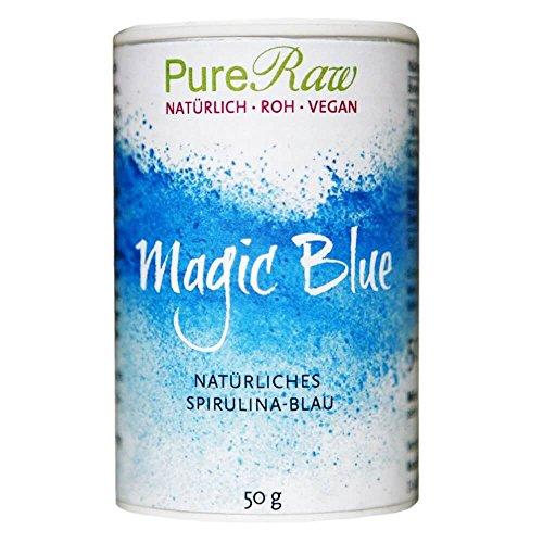 Magic Blue (natürliches Spirulina-Blau, blue spirulina) (Roh) 50 g