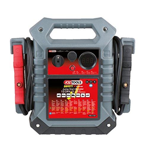 KS Tools 550.1720 12 V + 24 V Batterie-Booster, mobiles Starthilfegerät 1400 A