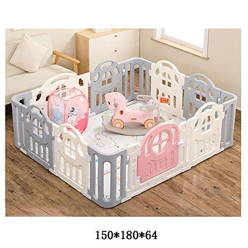 Check Out This Playpen,Children's Play Fence Home Toys Indoor Amusement Park Baby Fence Child Crawli...