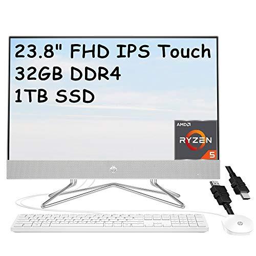 HP 24 Premium All in One Desktop Computer 23.8