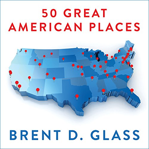50 Great American Places audiobook cover art