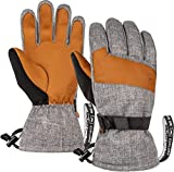 Best Ski Gloves - Ski & Snow Gloves - Cold Weather Waterproof Review