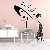 woyaofal Girl Wall Home Decoration Accessories Waterproof Wall Decals Decor Wall Decals s Muraux M...
