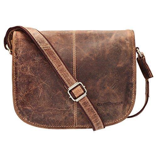Green Burry Vintage Tasche 1723M, Braun, Einheitsgröße
