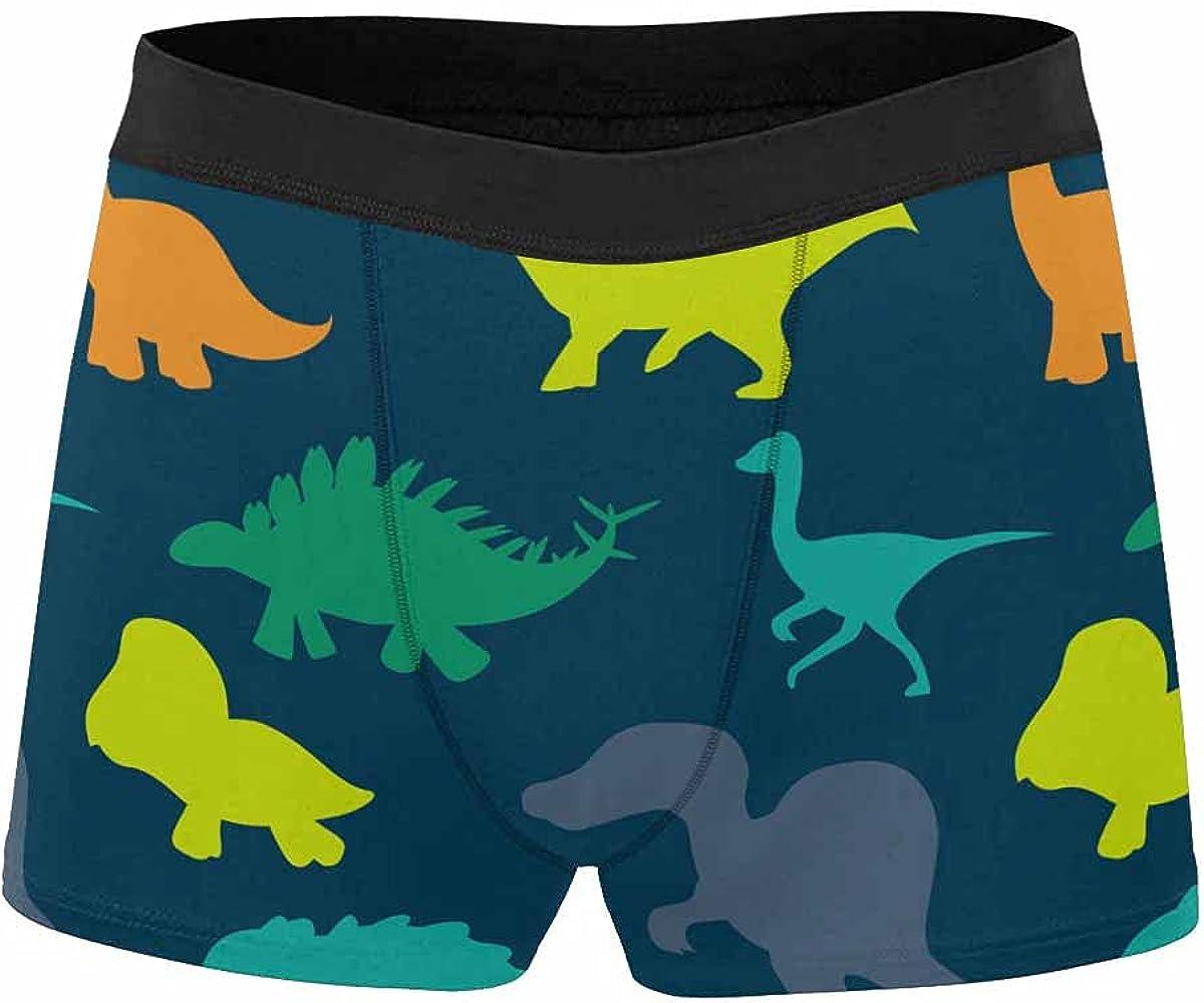InterestPrint Comfort-Soft Polyester Boxer Briefs, Men's Underwear, Digitally Enhanced Purple Rose