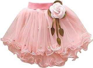 d46d0c718be95 HUI Enfants Enfants Bébé Filles Spectacle Danse Parti Fleur Princesse Gaze  Tutu Jupe Jupe