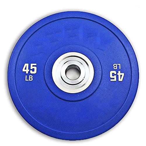 YQCH PUS Pieza OLÍMPICA COMPETITIVA Completo Color DE Color DE Color DE Color DIÁMETRO DE DIAMADOR DE 2 Pulgadas Barbell (Color : 45LB)