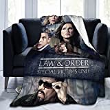 Law and Order SVU Novelty Blanket Novelty Blanket Flannel Throw Blankets Luxury Ultra-Soft Micro Fleece Blanket for Bed Couch Sofa Blanket 50'X40'