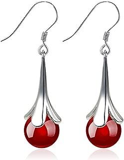 Ogquaton Boucles doreille premium pour femmes Boucles doreilles pendantes plaqu/ées or 1 paire