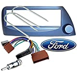 Kit de Montaje Marco Adaptador autoradio 1 DIN Ford KA Blue