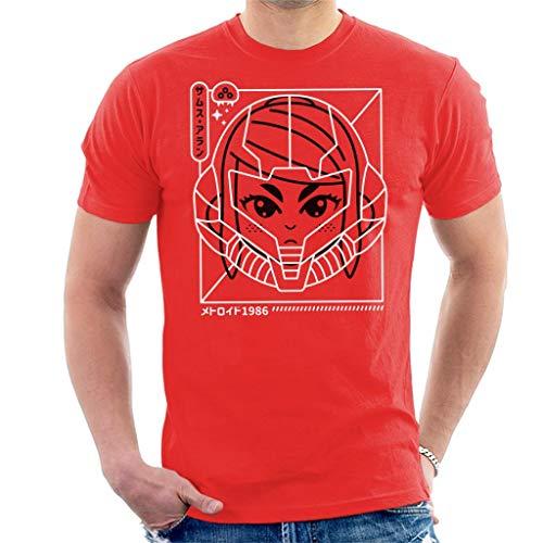 Cyber Helmet Metoroid Version II Men's T-Shirt