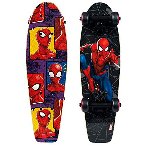"PlayWheels Spider-Man  21"" Wood Cruiser-Spider Block"