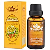 JUYOU New Lymphatic Drainage Ginger Oil [ 100% PURE Natural ] 30ml (1 pack)