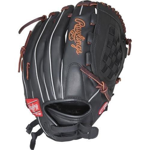 Rawlings Gamer Series Softball Glove, Right Hand, Basket-Web, Custom Fit, 12 Inch