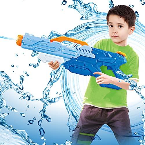 ZLYZS Pistola De Agua Niños, Pistolas De Agua, Pistola De Juguete De Agua De Verano, para Regalos De Fiesta, Juguetes De Agua para Niños Y Adultos para Piscina, Patio Trasero, Diversión