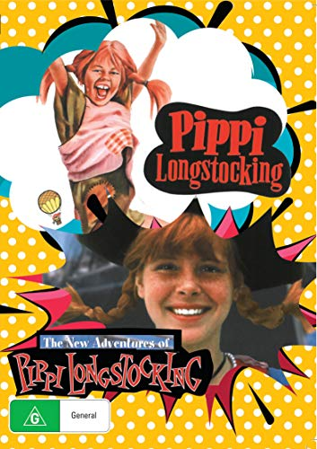 Pippi Longstocking and The New Adventures of Pippi Longstocking Collection Box Set DVD