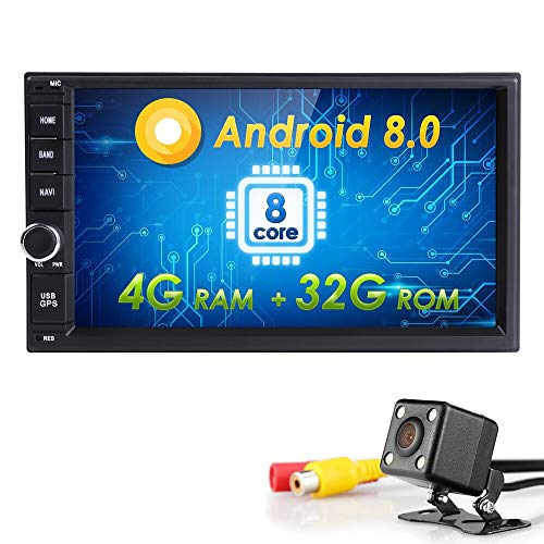 Best Buy! US Warehouse – Davitu Car Multimedia Player – Hizpo Octa Core 7″ 2 Din Android 8.0 Car NO-DVD Radio Multimedia Player 1024600 Universal GPS Navigation autoradio Stereo Audio – (Cores: Eight Core)