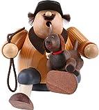 German Incense Smoker Dog lover - 16cm / 6 inch - KWO