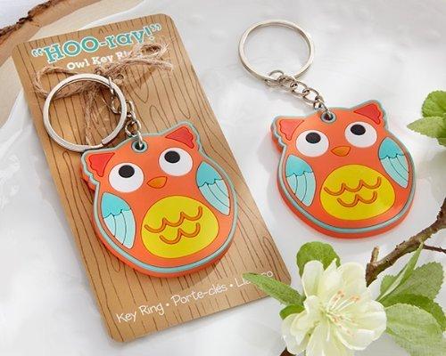 "Kate Aspen ""HOO-ray!"" Owl Keychain"